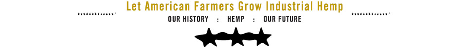 Let Farmers Grow Industrial Hemp