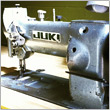 vintage JUKI sewing machine